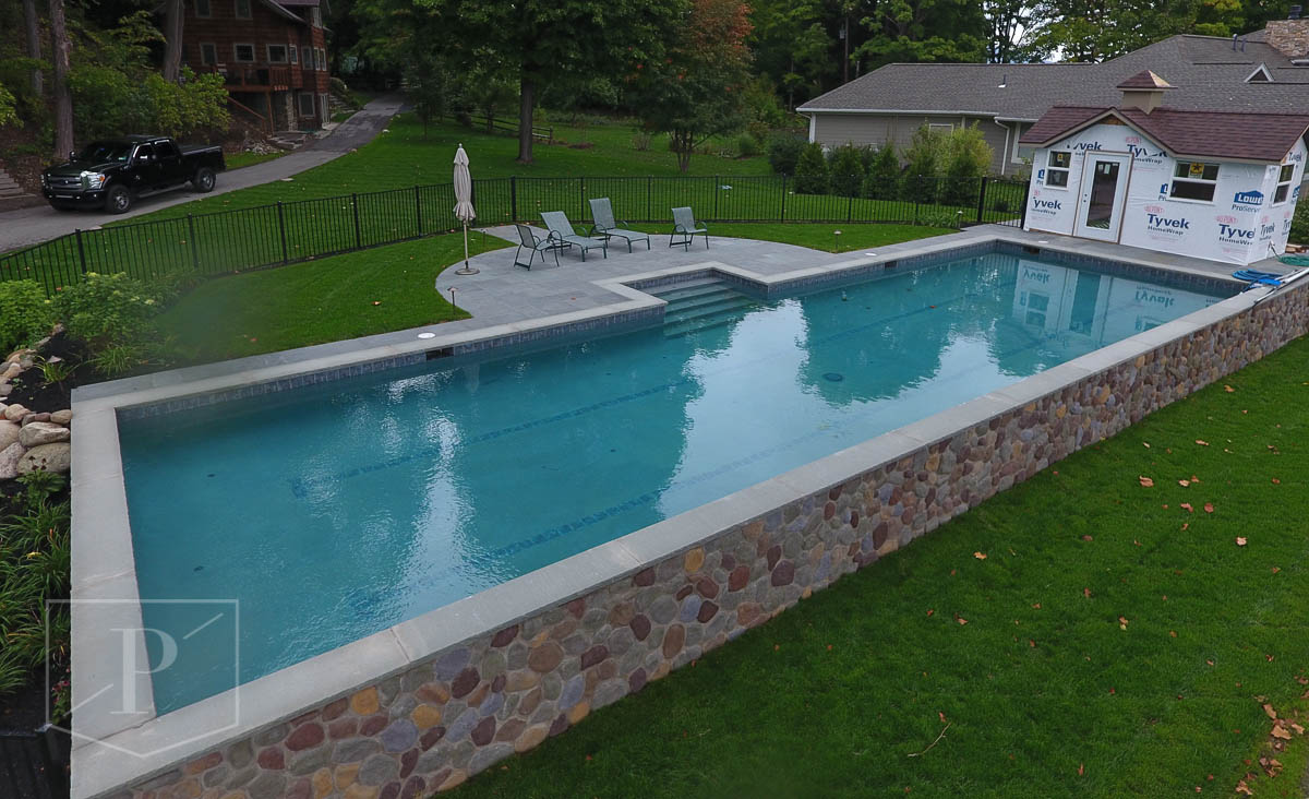 Olympic pools 101 precision pool and spa custom in - How many meters is a olympic swimming pool ...