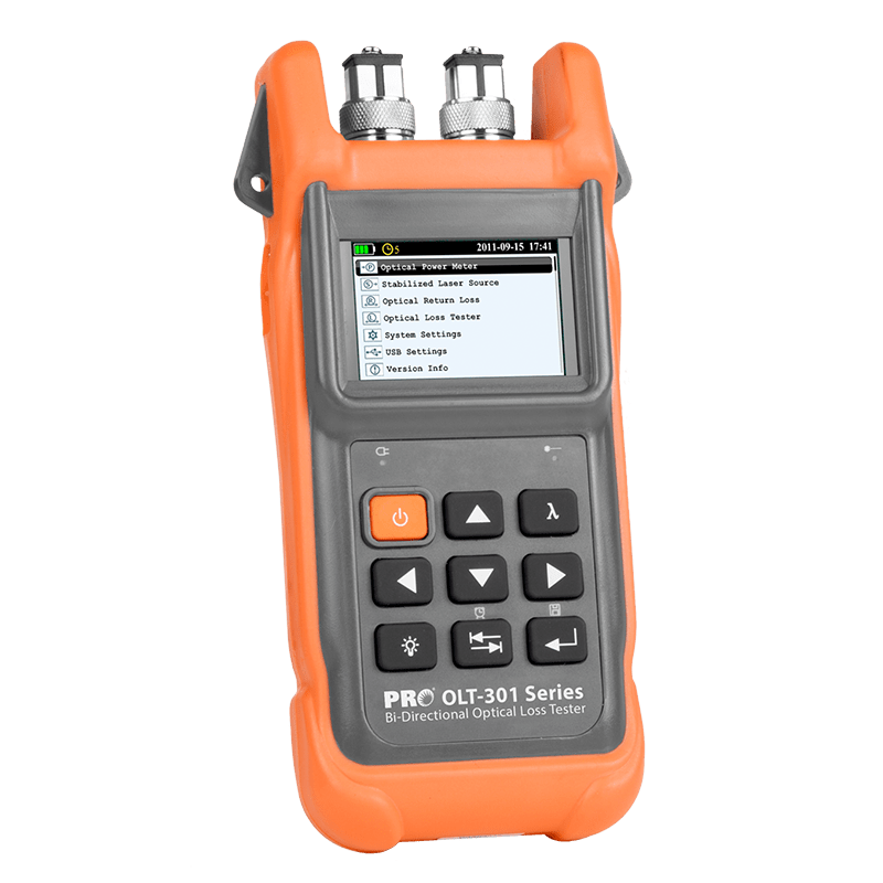 OLT-301 Series – Optical Loss Testers – Precision Rated Optics