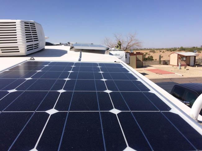 Arctic Fox Rv Solar Installations