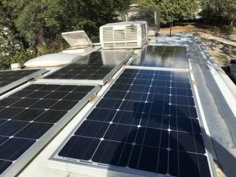 Winnebago View Solar Panels and RV Power