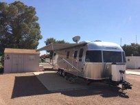 A 1000 Amp hour lithium ion battery plant was added to this Airstream