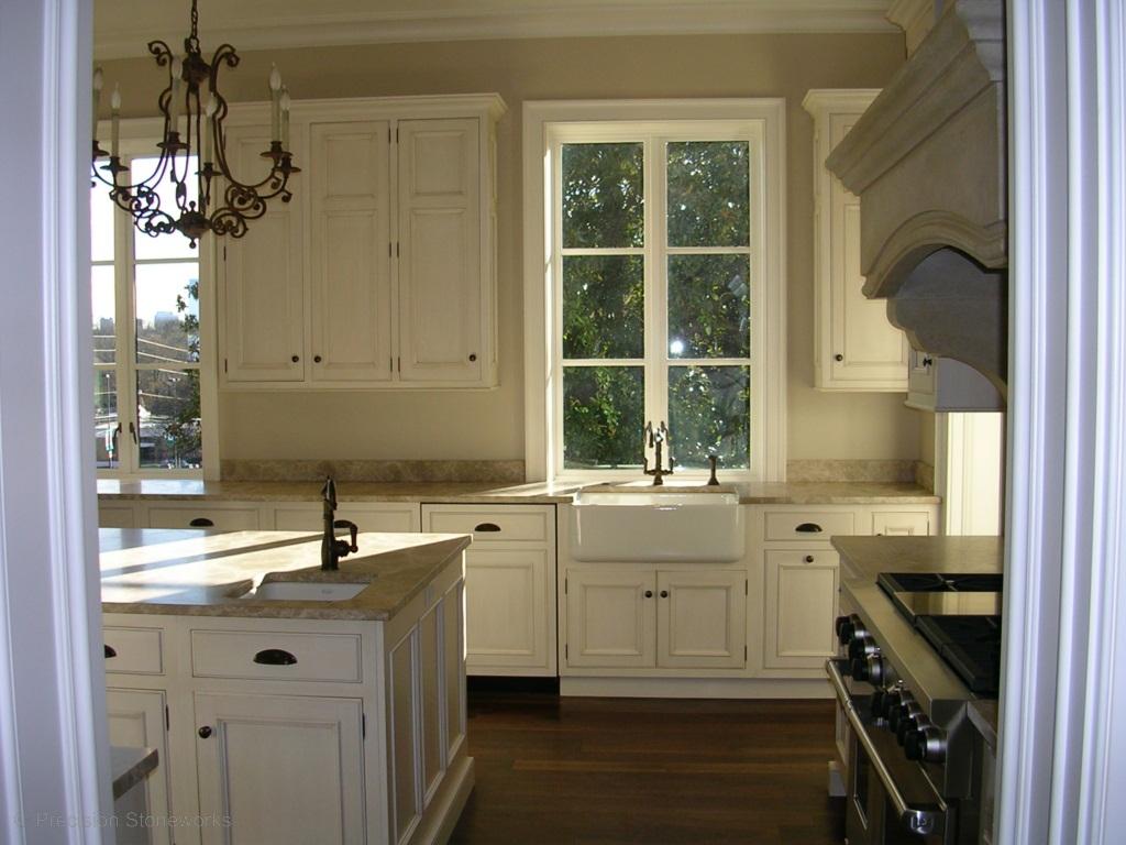 Atlanta Granite Kitchen Countertops   Precision Stoneworks on Farmhouse Kitchen Farmhouse Granite Countertops  id=17972