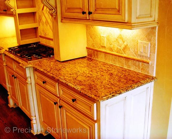 Granite Kitchen Countertops Precision Stoneworks. Orange Granite Counter