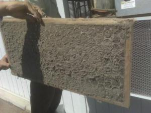 Clogged Air Conditioning Filter