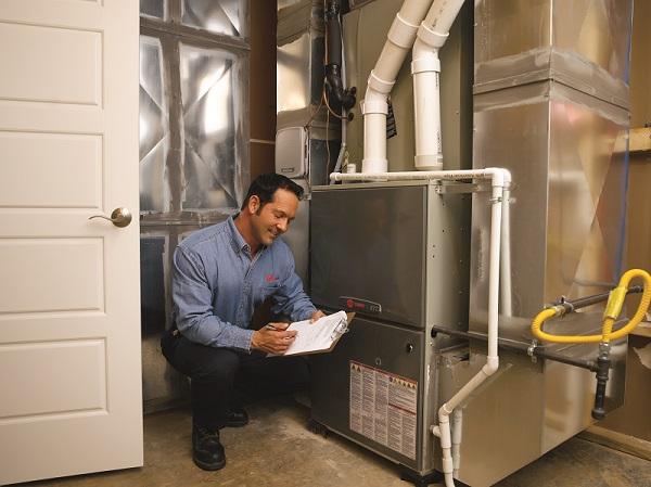 HVAC Professional Furnace Check