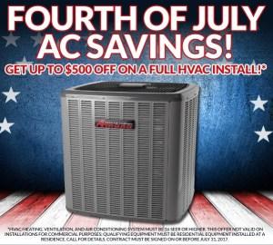 July AC Savings
