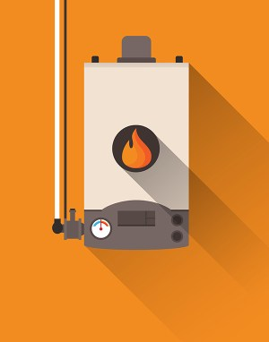 wall furnace difference between heating and cooling systems