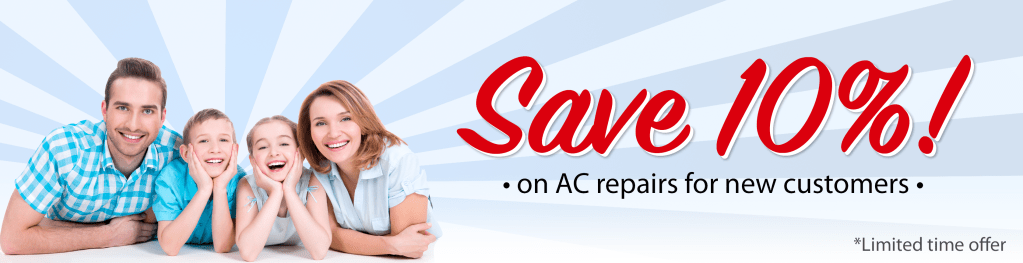 AC Repair Landing Page Header