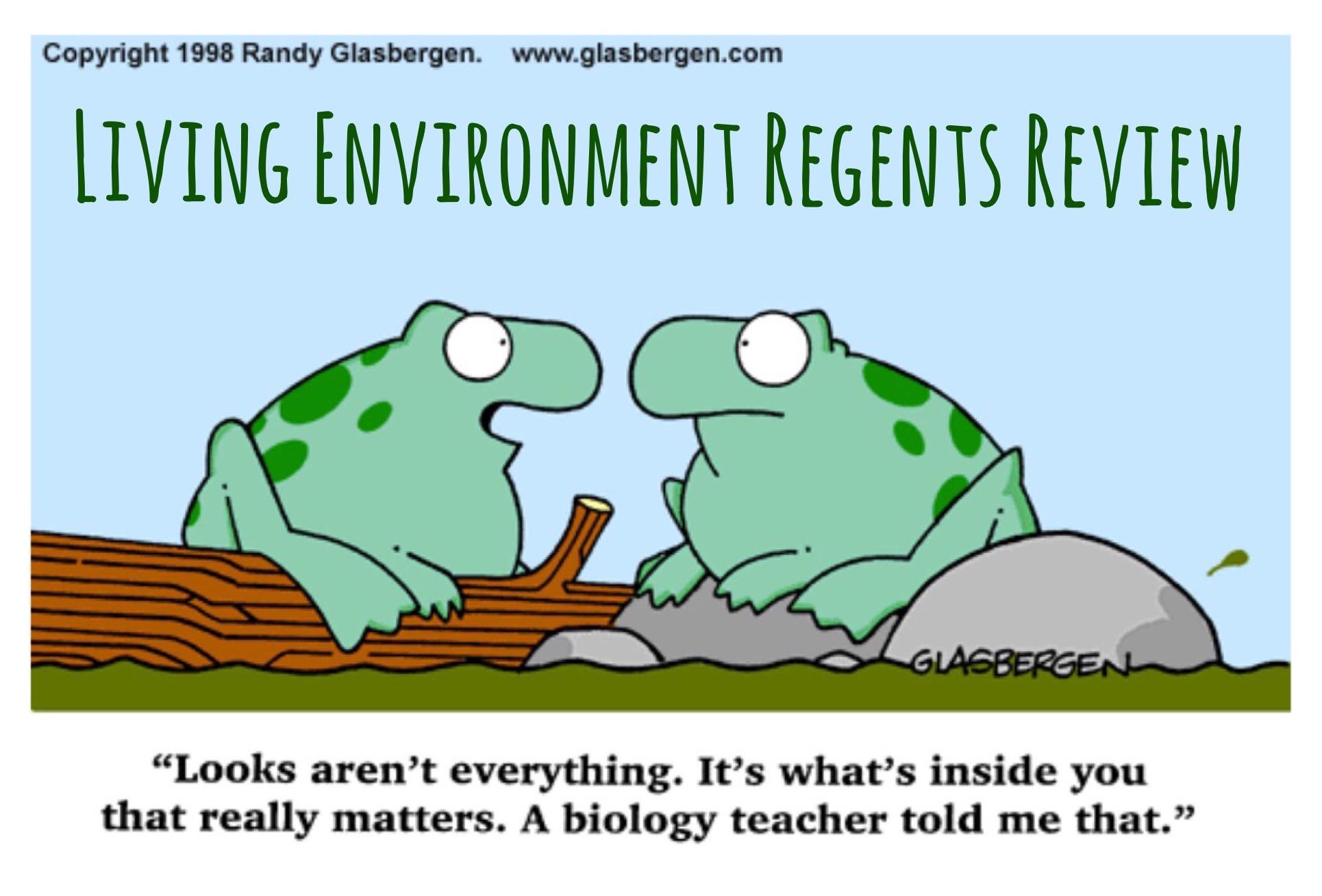 Living Environment Regents Review