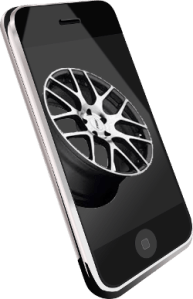 Smartphone quote from Precision Wheel Repair