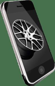 Smartphone quote from Precision Wheel Repair