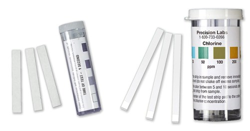 hotel disinfection, hotel microbes, chlorine test strips