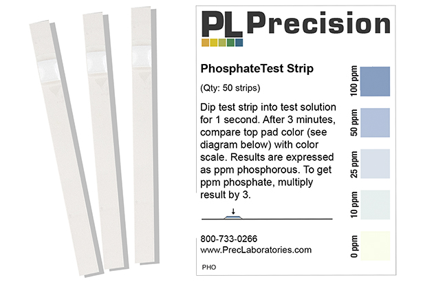 how do i use your phosphate test strips? precision laboratories Strip Diagram Fill In how do i use your phosphate test strips?