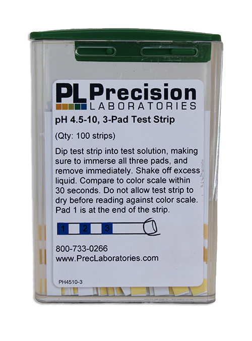 pH 4.5-10 test strips, pH 4.5-10, pH 4-5-10, test strips, pH, pH test strips