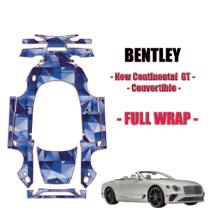 2019-2021 Bentley New Continental GT Paint Protection Kit-FULL WRAP