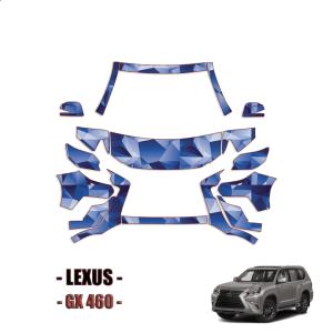 2014-2021 Lexus GX 460 Base Premium Luxury PPF Kit PreCut Paint Protection Kit – Partial Front