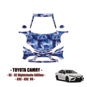 2021 Toyota Camry SE, SE Nightshade Edition PPF Kit PreCut Paint Protection Kit – Full Front