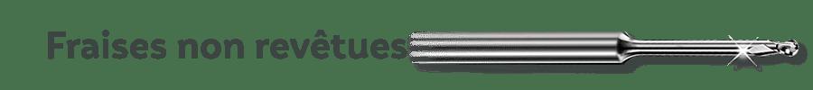 Precxis outils dentaires et medicaux - Fraises CAD-CAM ROLAND non revêtues pour toutes matières