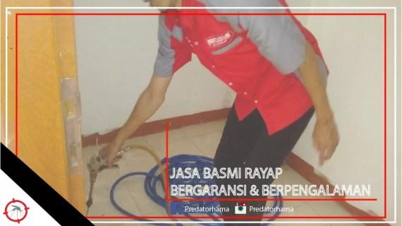 Jasa Basmi Rayap Tangerang Bergaransi