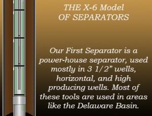 X-6 Model Gas Separator