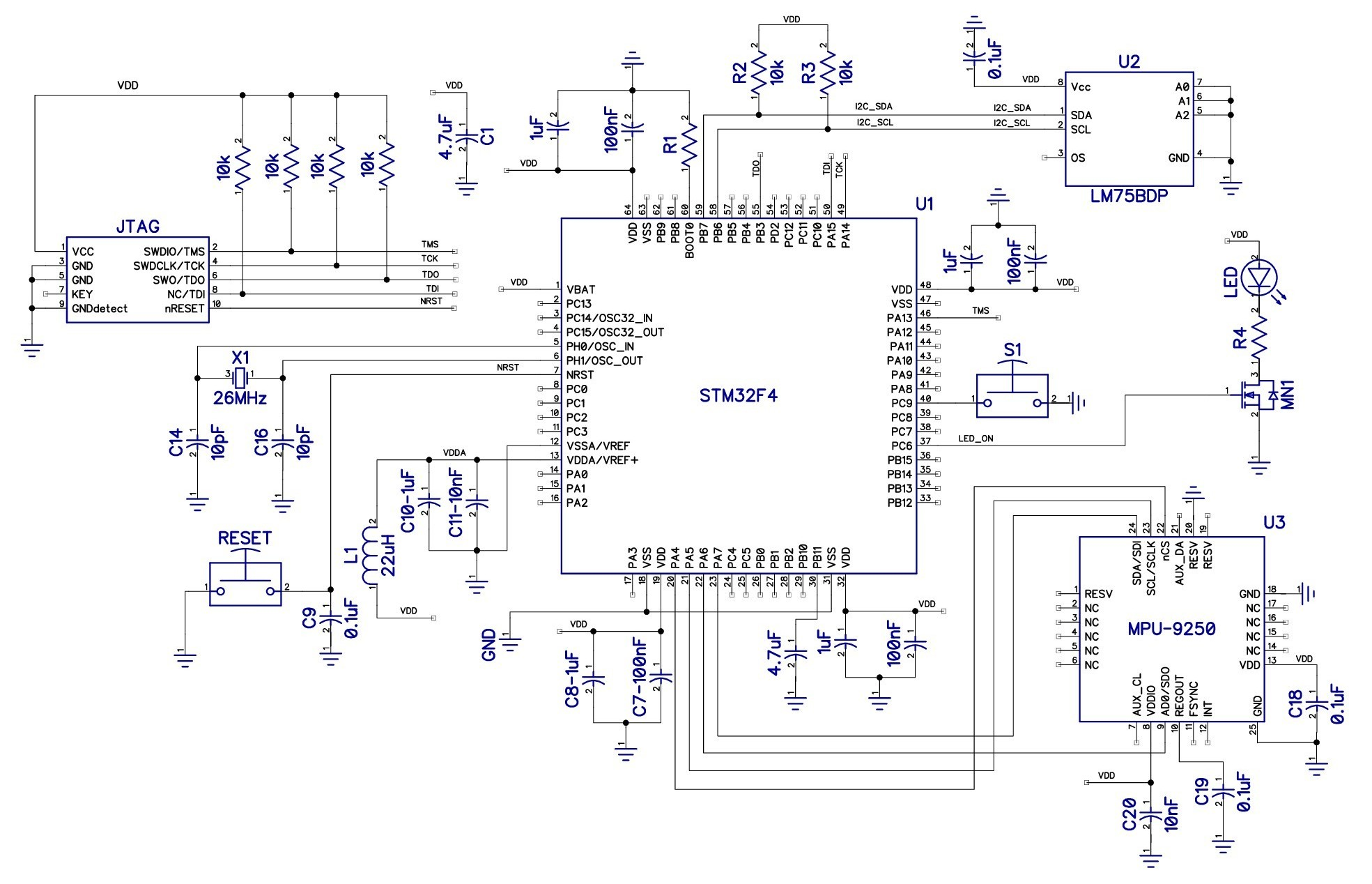 How To Design A Microcontroller Circuit Make Power Supply Block Diagram Free Download Wiring Schematic Figure 1 Click View Larger Image