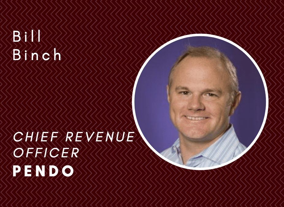 How to hire, and develop, great salespeople with Pendo's Bill Binch