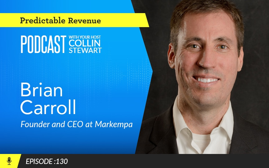 How to deliver empathy as a prospector and increase sales with Brian Carroll