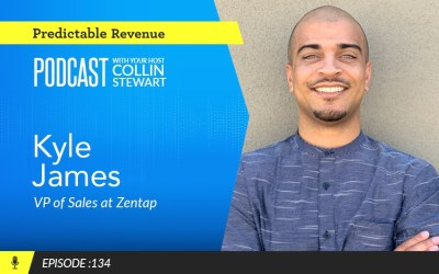 How to cultivate presence and show up on every sales call with Zentap's Kyle James