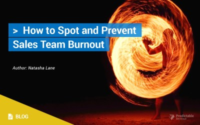 How to Spot and Prevent Sales Team Burnout