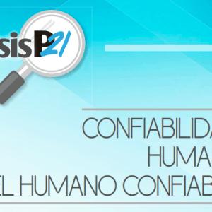 Confiabilidad Humana Y El Humano Confiable