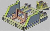 Figura 10. Bastidor de Volcador de Bobinas
