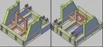 Figura 9. Bastidor de Volcador de Bobinas