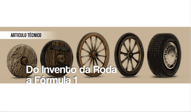 Do Invento da Roda a Fórmula 1