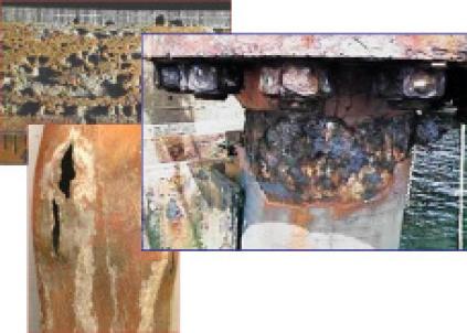 Figura 10. Visualización de algunos Mecanismos de deterioro.