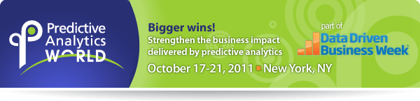 Predictive Analytics World New York October 2011