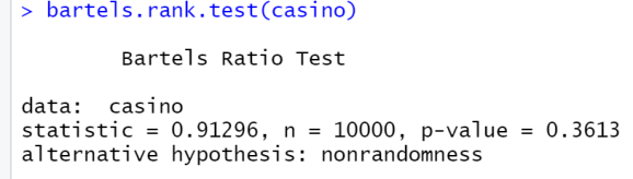 How to Test for Randomness 6