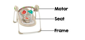 portable baby swing featurers