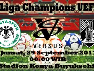 Prediksi Bola Gratis Konyaspor VS Vitoria Guimaraes