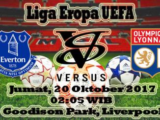 Prediksi Hari Ini Everton VS Olympique Lyonnais