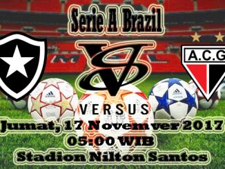 Prediksi Skor Bola Botafogo VS Atletico Clube Goianiense
