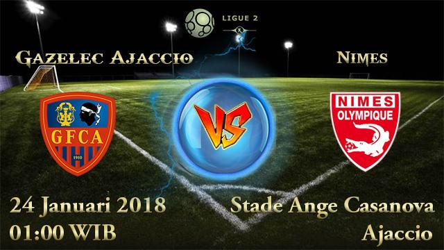 Prediksi Bola Gazelec Ajaccio vs Nimes