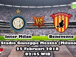 Prediksi Skor Akurat Inter Milan vs Benevento