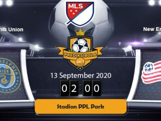 PREDIKSI BOLA JITU PHILADELPHIA UNION VS NEW ENGLAND 13 SEPTEMBER 2020
