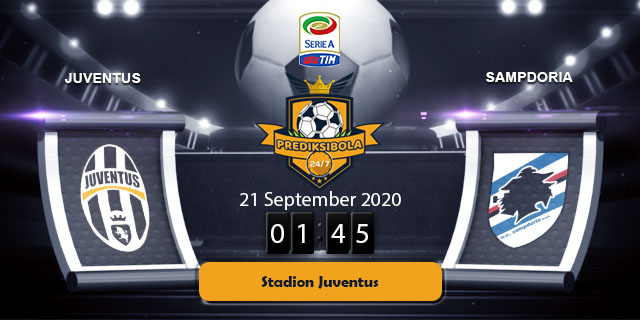 PREDIKSI BOLA JITU JUVENTUS VS SAMPDORIA 21 SEPTEMBER 2020