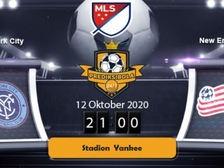 PREDIKSI BOLA JITU NEW YORK CITY VS NEW ENGLAND 12 OKTOBER 2020
