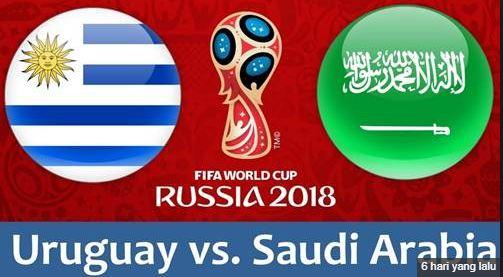 Prediksi Bola Uruguay vs Saudi Arabia Tanggal 20 Juni 2018
