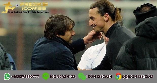 Antonio Conte Zlatan Ibrahimovic