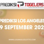 Prediksi Togelers LOS ANGELES 19 September 2020 Hari Sabtu