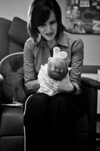Kathryn Whitaker feeding Luke  © Shannon Cunningham Photography