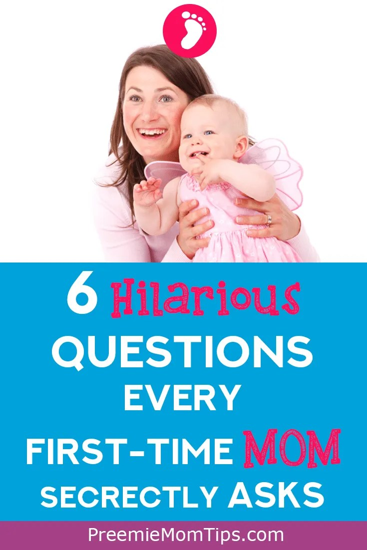 As a first time mom, I didn't know what I was about to face with my newborn baby. Sure, I had to change diapers, and breast milk, and we were just discharged from NICU, and even so, these super silly questions popped into my head!